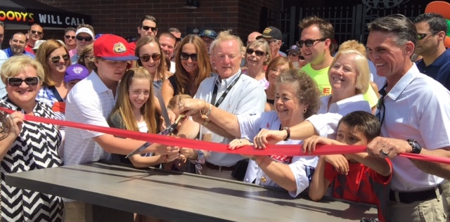 Jimmy John's Field Ribbon Cutting