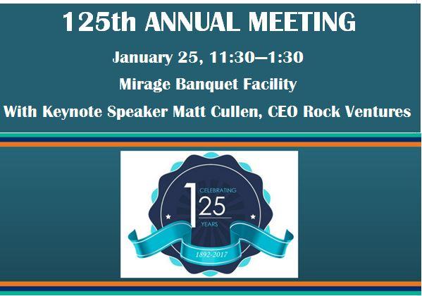 125th Annual Meeting Promo