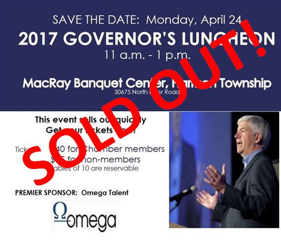 Governor Sold Out