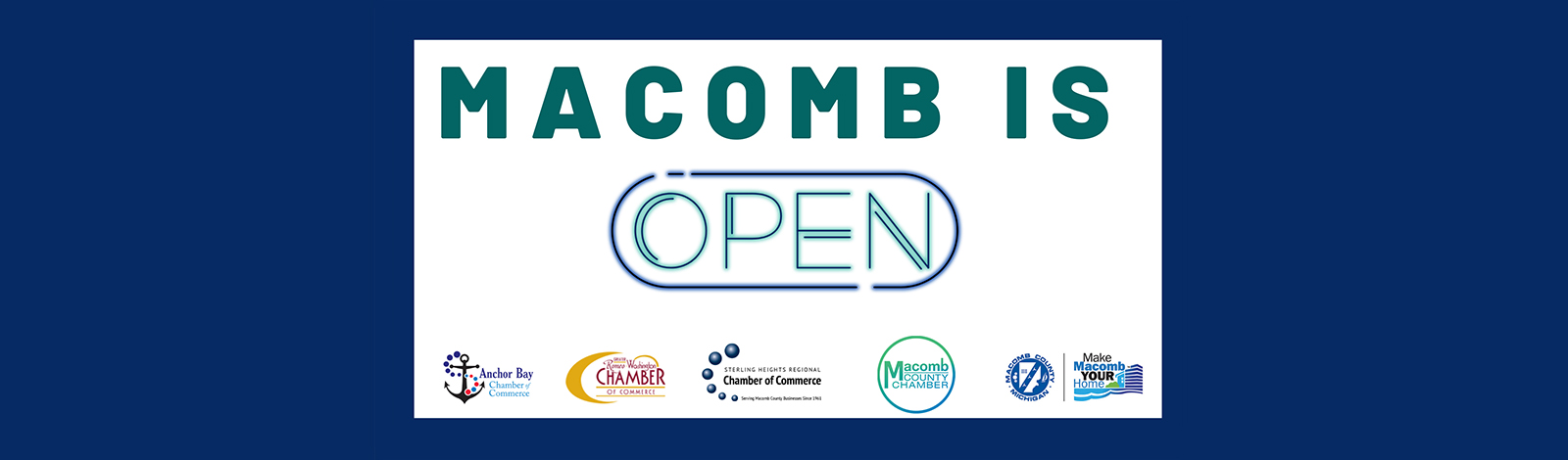 web banner macomb is open